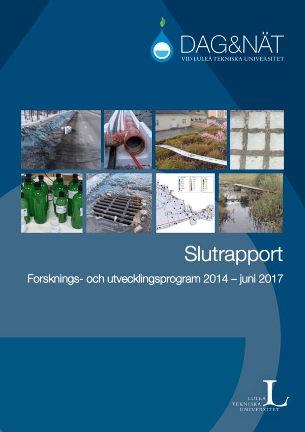 Dag&Nät Forsknings- och utvecklingsprogram 2014 – juni 2017 Slutrapport
