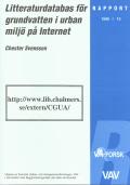 Litteraturdatabas för urban miljö på Internet