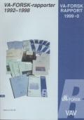 VA-forsk-rapporter 1992-1998