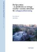 De fyra stora – en jämförelse av reningsresultat i svenska våtmarker för avloppsvattenrening