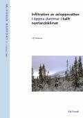 Infiltration av avloppsvatten i öppna dammar i kallt norrlandsklimat