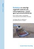 Reduktion av naturligt organiskt material och mikroorganismer i konstgjord grundvattenbildning – Del 2: Försök i kolonn- och pilotskala med natursand och järnoxidtäckt olivinsand