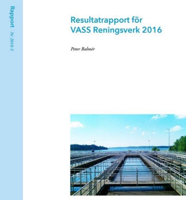 Resultatrapport för VASS Reningsverk 2016