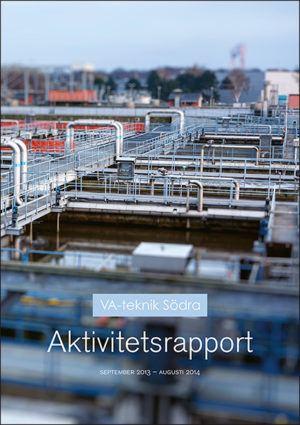 VA-teknik Södra. Aktivitetsrapport september 2013 - augusti 2014