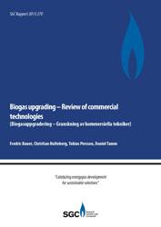 Biogasuppgradering – Granskning av kommersiella tekniker