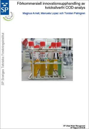 Förkommersiell innovationsupphandling av kvicksilverfri COD-analys