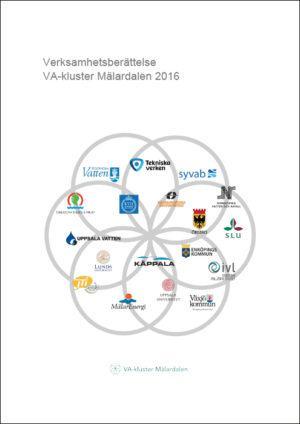 Verksamhetsberättelse VA-kluster Mälardalen 2016