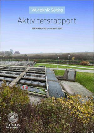 VA-teknik Södra. Aktivitetsrapport september 2012 - augusti 2013