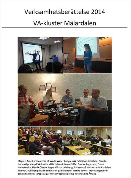 Verksamhetsberättelse VA-kluster Mälardalen 2014