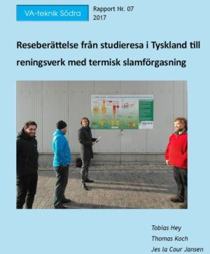 Reseberättelse från studieresa i Tyskland till reningsverk med termisk slamförgasning