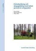 Kväveberikning och skogsgödsling med torkat granulerat avloppsslam