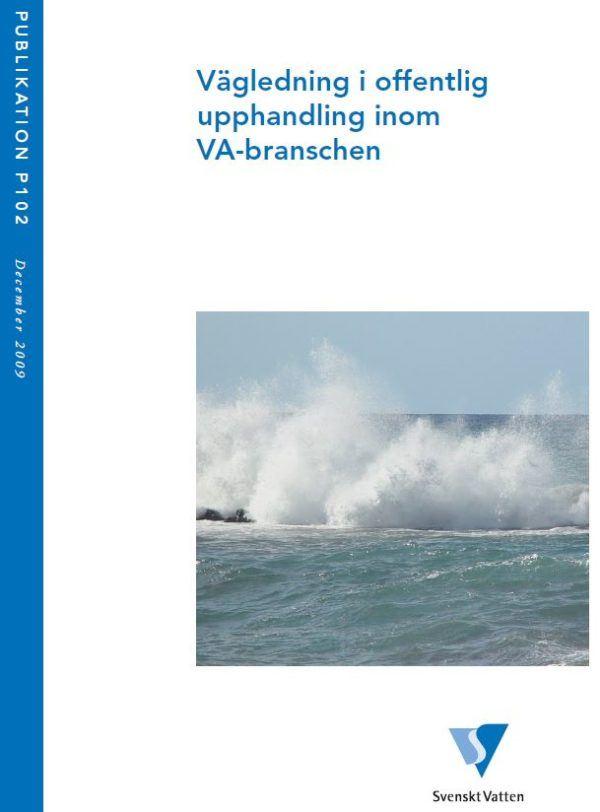Vägledning i offentlig upphandling inom VA-branschen