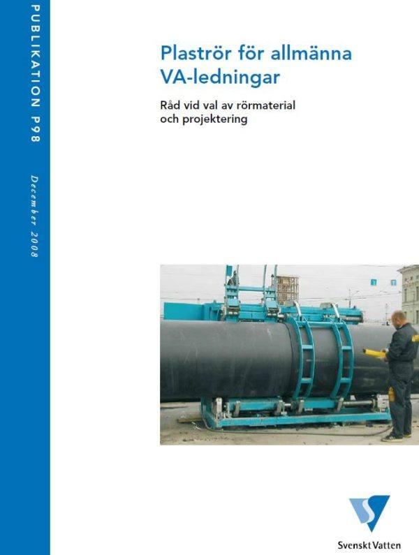 Plaströr för allmänna VA-ledningar