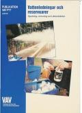 Vattenledningar och reservoarer P77