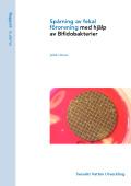 Spårning av fekal förorening med hjälp av Bifidobakterier