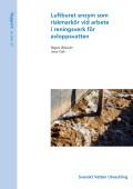 Luftburet enzym – riskmarkör vid arbete i reningsverk för avloppsvatten
