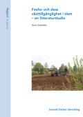 Fosfor och dess växttillgänglighet i slam – en litteraturstudie