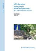 NOS-dagvatten – Uppföljning av dagvattenanläggningar i fem Stockholmskommuner