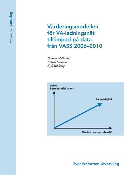 Värderingsmodellen för VA-ledningsnät tillämpad på data från VASS 2006–2010