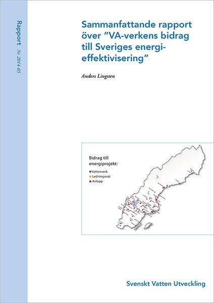 """Sammanfattande rapport över """"VA-verkens bidrag till Sveriges energieffektivisering"""""""