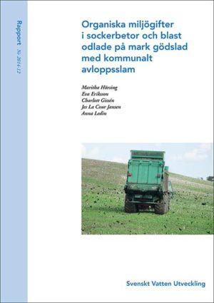 Organiska miljögifter i sockerbetor och blast odlade på mark gödslad med kommunalt avloppsslam