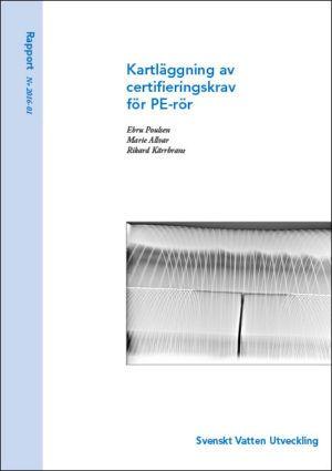 Kartläggning av certifieringskrav för PE-rör