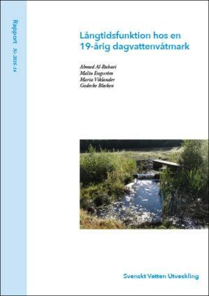 Långtidsfunktion hos en 19-årig dagvattenvåtmark