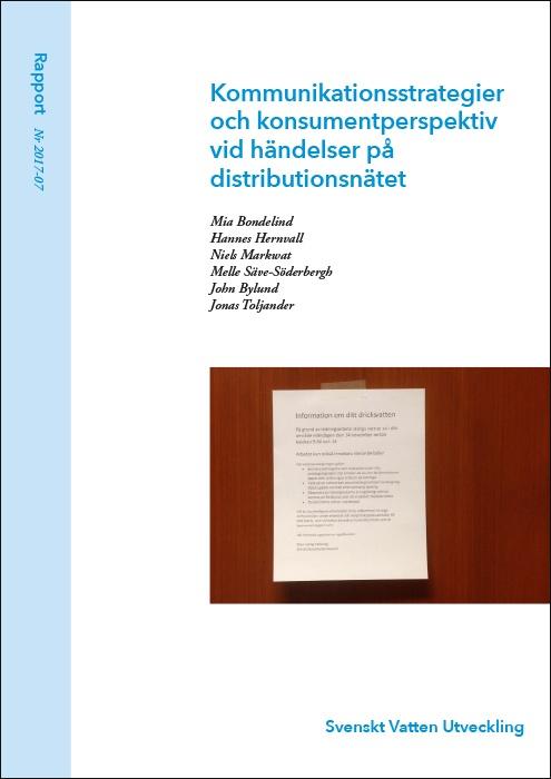 Kommunikationsstrategier och konsumentperspektiv vid händelser på distributionsnätet