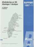 Utvärdering av VA-lösningar i ekobyar