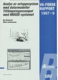 Analys av avloppssystem med datormodeller