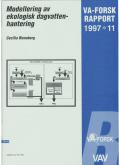 Modellering av ekologisk dagvattenhantering