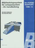 Miljöledningssystem för avloppssystem