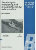 Bevattning av energiskog med biologiskt behandlat avloppsvatten