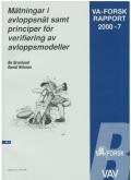 Mätningar i avloppsnät samt principer för verifiering av avloppsmodeller