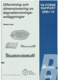 Utformning och dimensionering av dagvattenreningsanläggningar.