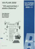 """VA-Plan 2050 """"VA-samverkan i södra Dalarna""""."""