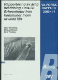 Rapportering av årlig bräddning 1994-98