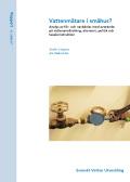 Vattenmätare i småhus? Analys av för- och nackdelar med avseende på vattenanvändning