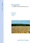 Energigrödor – en möjlighet för jordbruksanvändning av slam