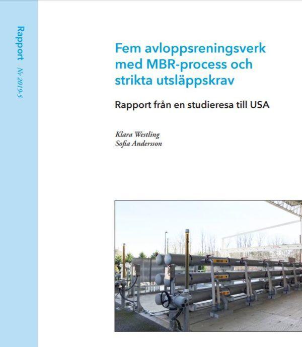 Fem avloppsreningsverk med MBR-process
