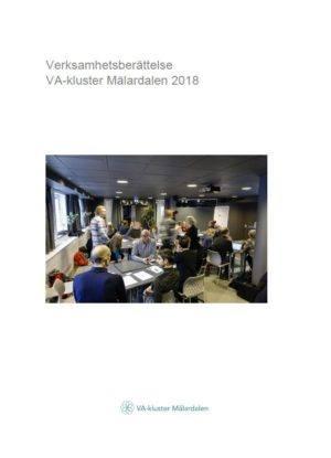 Verksamhetsberättelse VA-kluster Mälardalen 2018