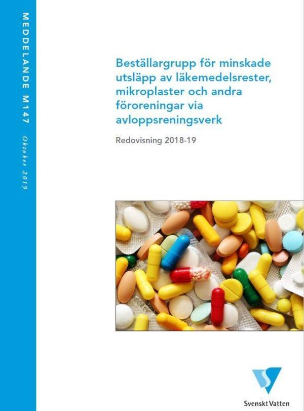 Beställargrupp för minskade utsläpp av läkemedelsrester, mikroplaster och andra föroreningar via avloppsreningsverk