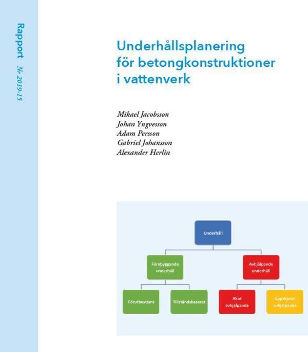 Underhållsplanering för betongkonstruktioner i vattenverk