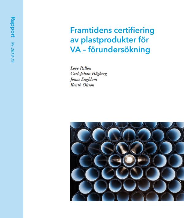 Framtidens certifiering av plastprodukter för VA