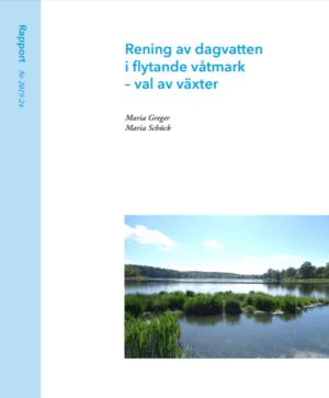Rening av dagvatten i flytande våtmark