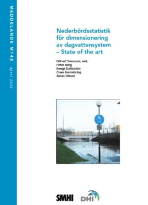 Nederbördsstatistik för dimensionering av dagvattensystem