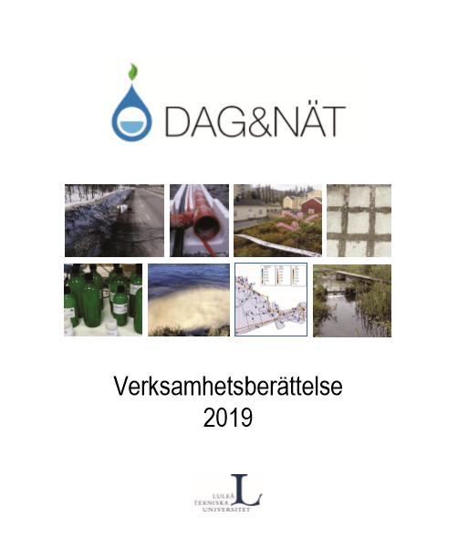 Dag&Nät Verksamhetsberättelse 2019