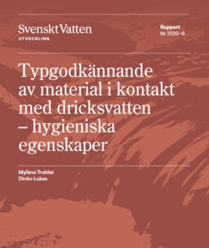 Typgodkännande av material i kontakt med dricksvatten