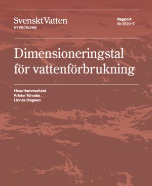 Dimensioneringstal för vattenförbrukning