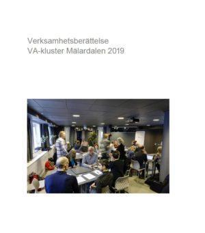 Verksamhetsberättelse VA-kluster Mälardalen 2019
